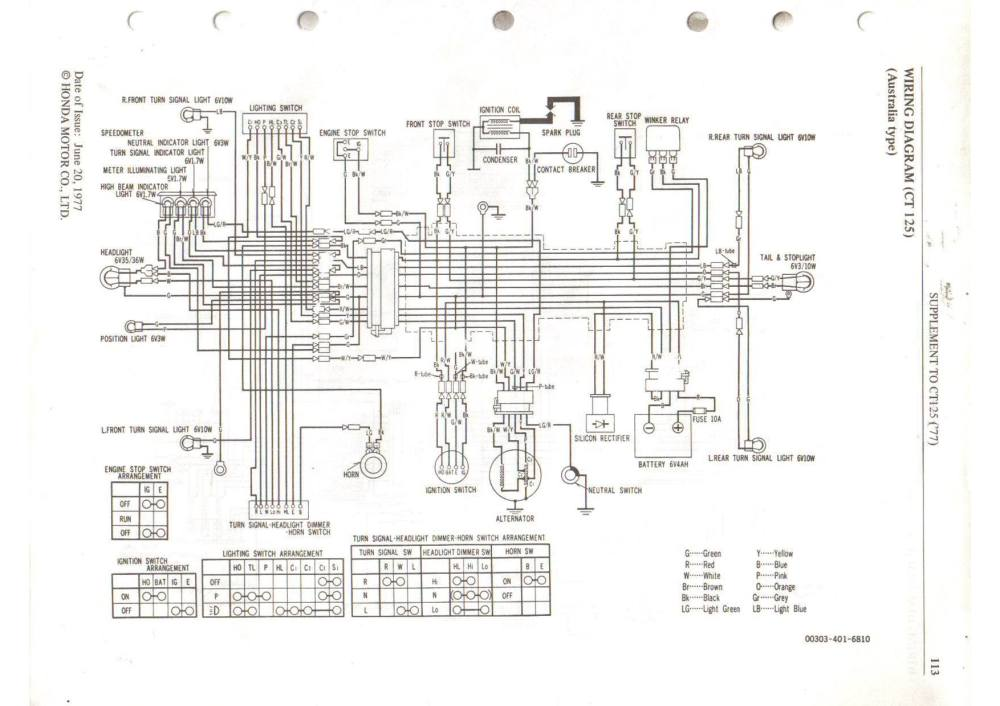 medium resolution of 1977 honda wiring diagram circuit connection diagram u2022 cb350f wiring diagram gl1000 wiring diagram