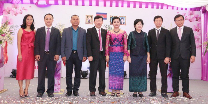 Orchid Koh Pich Hospital Official Opening Ceremony.