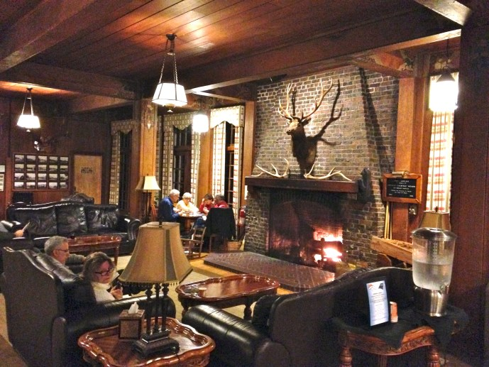 Great Room - Lake Quinault Lodge