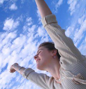 woman-reaching-outside
