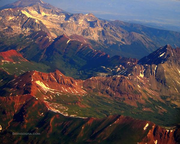 Colorful Colorado Rocky Mountain Views