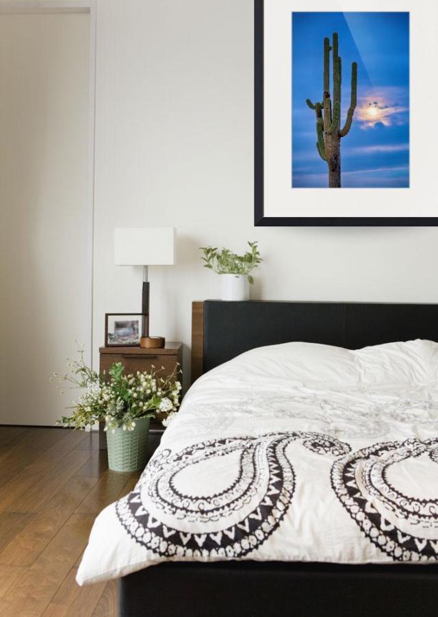 Giant-Saguaro-Cactus-Golden-Cloudy-Full-Moonset_art