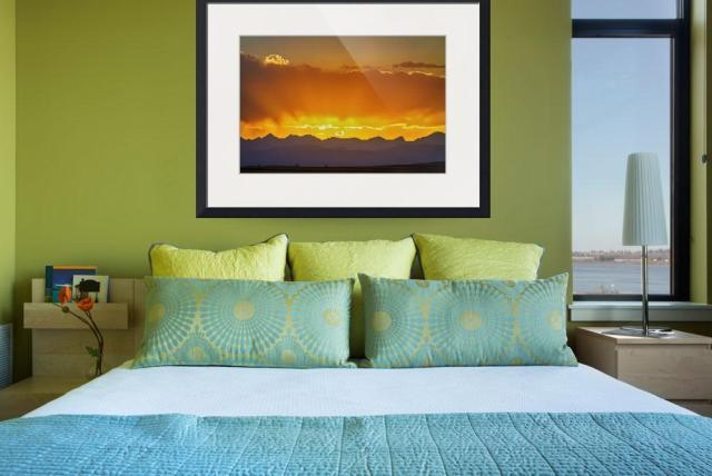 Colorado-Rocky-Mountains-Golden-Sunset-Sky_art