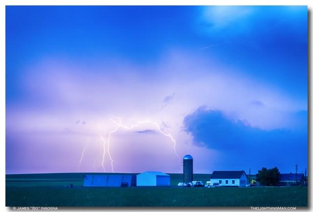 Colorado Country Lightning Storm