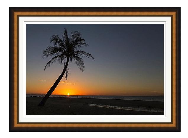 Bantayan Sunrise Framed Print