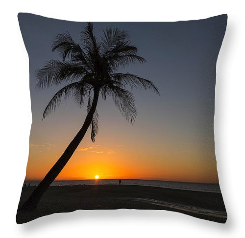 Bantayan Sunrise Throw Pillow