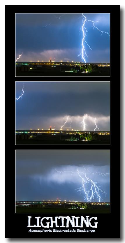 Lightning - Atmospheric Electrostatic Discharge.