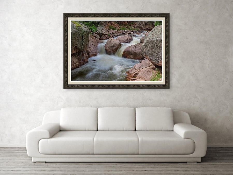 Fantasy Art Peaceful Waterfall
