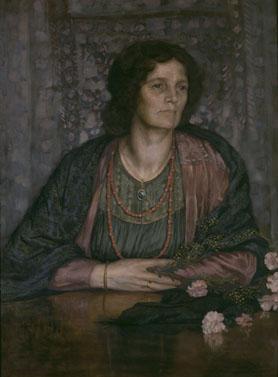 La Femme De L Artiste : femme, artiste, Œuvre, Portrait, Femme, L'artiste, Musées, Royaux, Beaux-Arts, Belgique