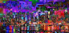 Fine Digital City Art