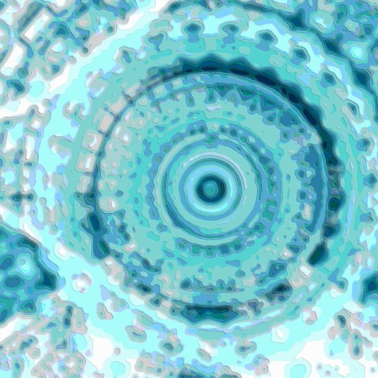Abstract Art Structure Echo