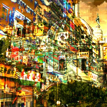 Cityscape Art Kowloon