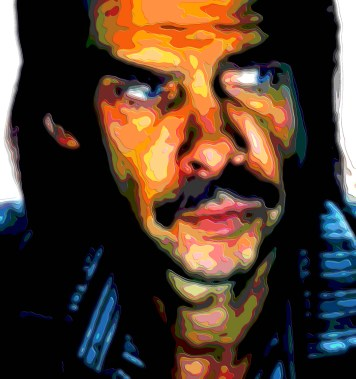 Nick Cave Portrait Art