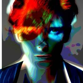 Tilda Swinton Portrait Art Zenning Blues