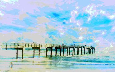 Ocean Landscape Art