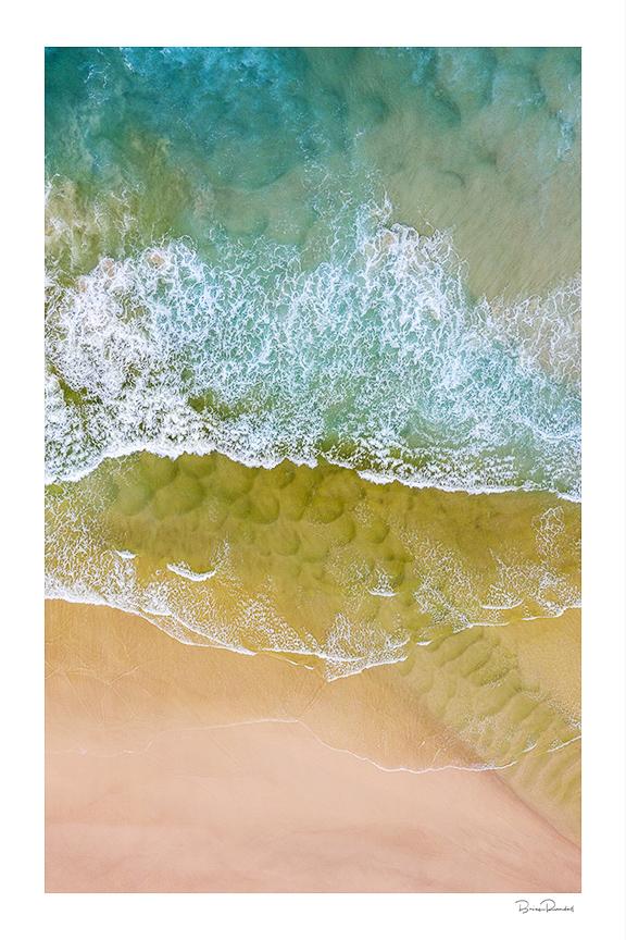 Pastel Beauty - Aerial Artwork