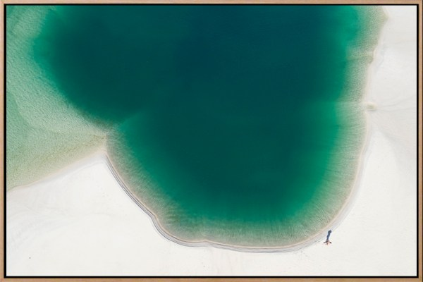 Swimming Hole - Aerial Artwork
