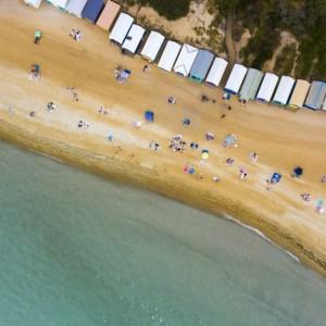 Mt Martha Life, Aerial Artwork, Brian Randall, Mornington Peninsula, Victoria