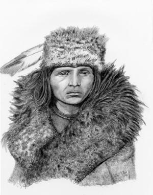 native american pencil drawings