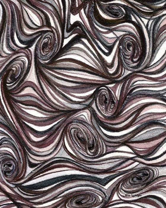Abstract Swirls by Nan Wright. 202 of 293. Page Link: Voting.