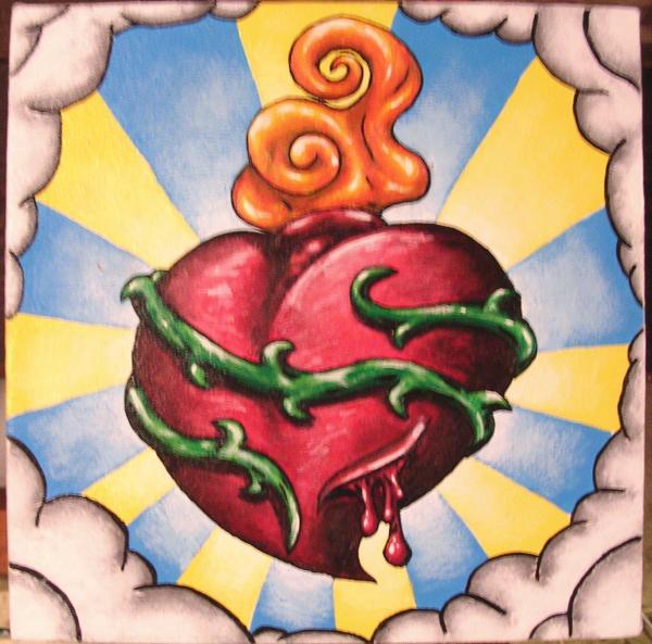 Bleeding Heart Tattoos | Bleeding Heart Tattoo Designs