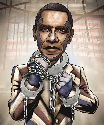 Image result for obama slave