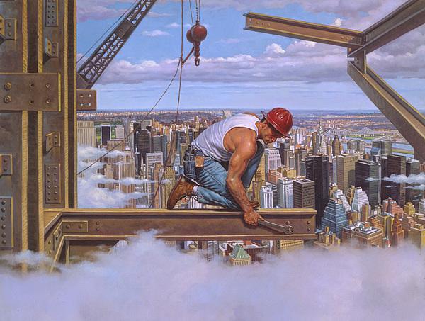 Construction Worker Artwork