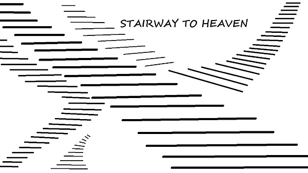 Stairway To Heaven Beach Sheet for Sale by Linda Velasquez