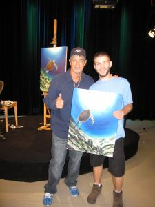 Painting with Wyland  Kevin Hill  Fine Art Blog