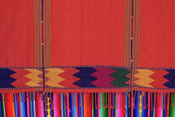 Native Culture Art Print featuring the photograph Colors Of Guatemala by Tatiana Travelways