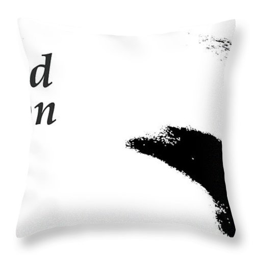 Abstract Throw Pillow featuring the photograph Limited Edition by Holly Morris