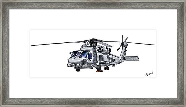 Mh-60r Forward Quarter Digital Art by Clay Greunke