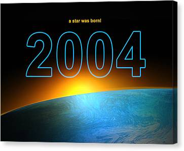 Birth Year 2004 Digital Art By Alexander Drum