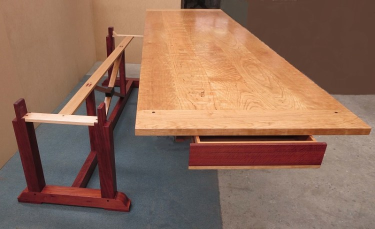 Table disassembled