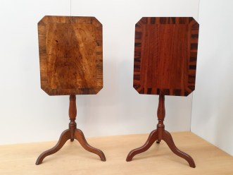 old and new wine tables