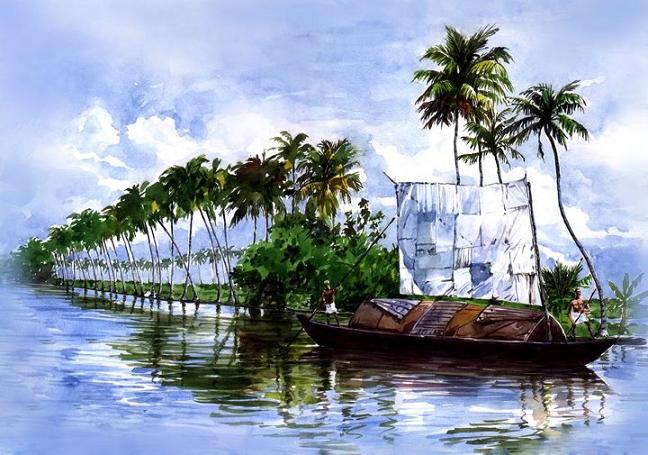 boat-painting-alappuzha