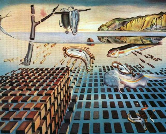 Salvador Dalí-painting