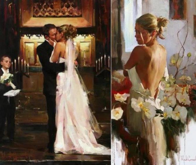 wedding-kiss-paintings