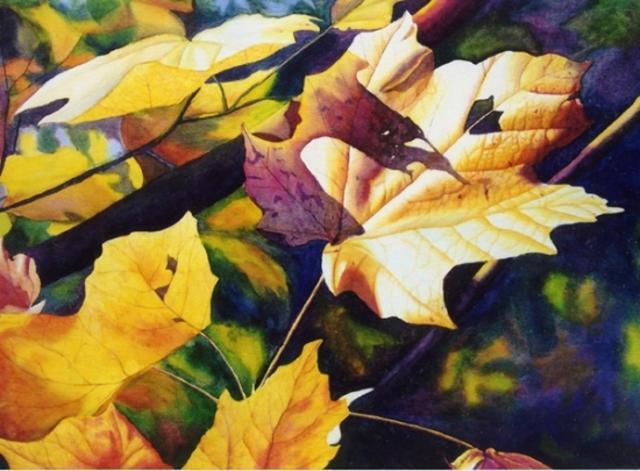 leaves-paintings
