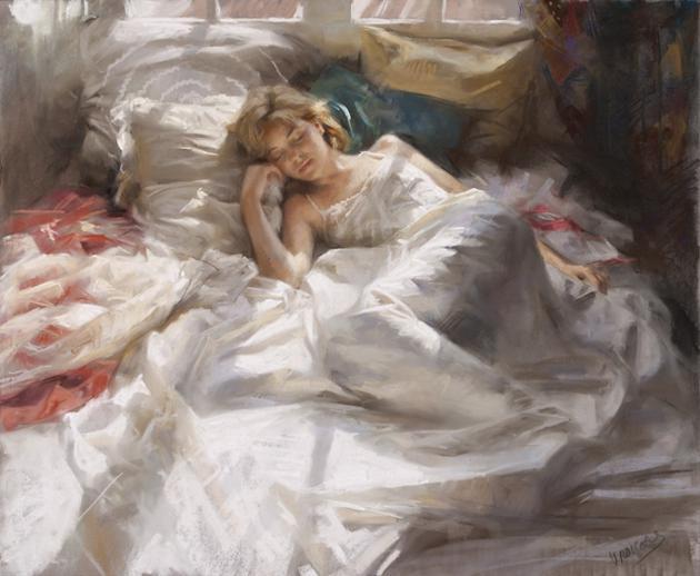 Vicente-Romero-paintings