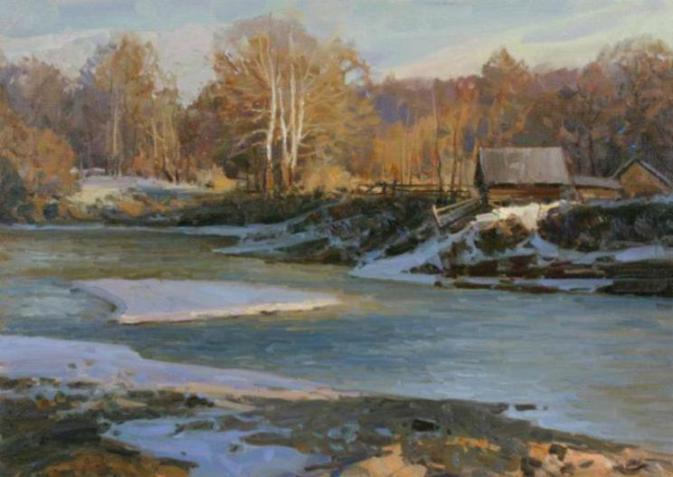 Aleksandr Babich Russian Landscape Plein Air Paintings