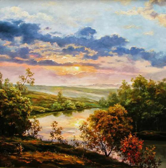 river-oil-painting