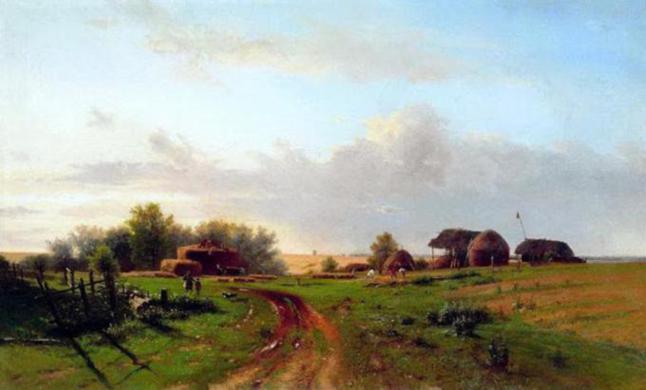 village-paintings