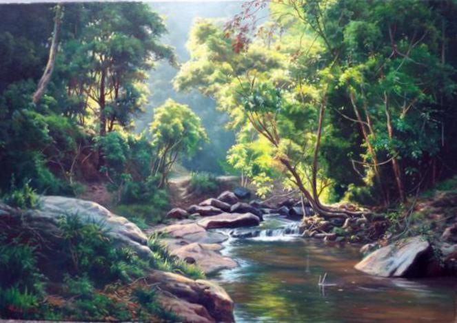 forest-river-paintings