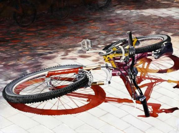watercolor-bicycle