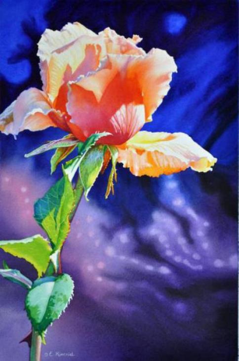 watercolor-rose-paintings