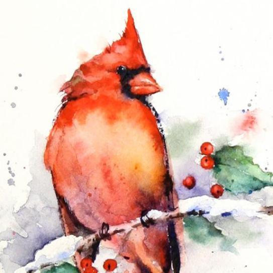 paintings-cardinal
