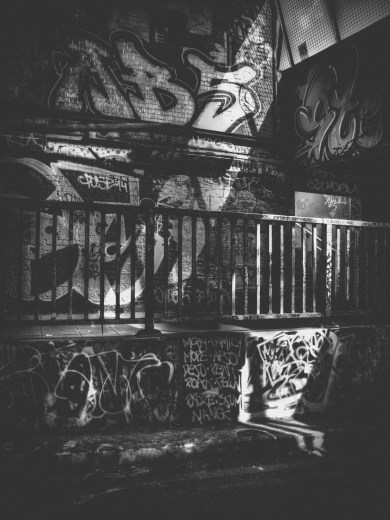 photograph black and white graffiti