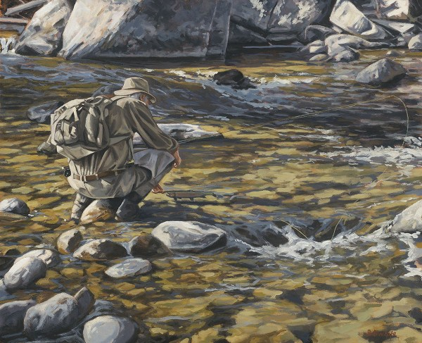 Answering Call - Fine Art Connoisseur
