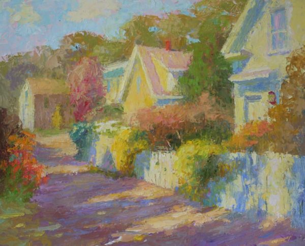 2018 Summer Streetscapes In Provincetown - Fine Art